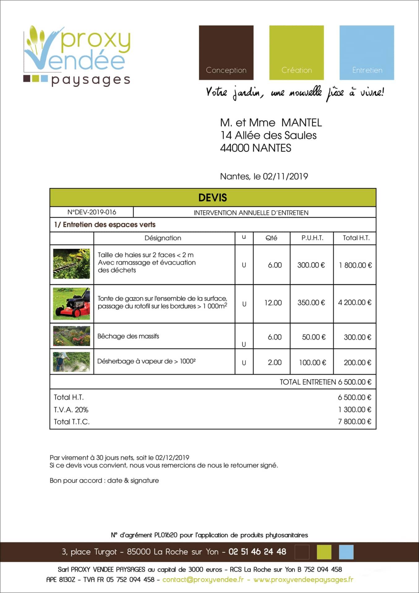 logiciel de gestion d u2019entreprise pour paysagistes