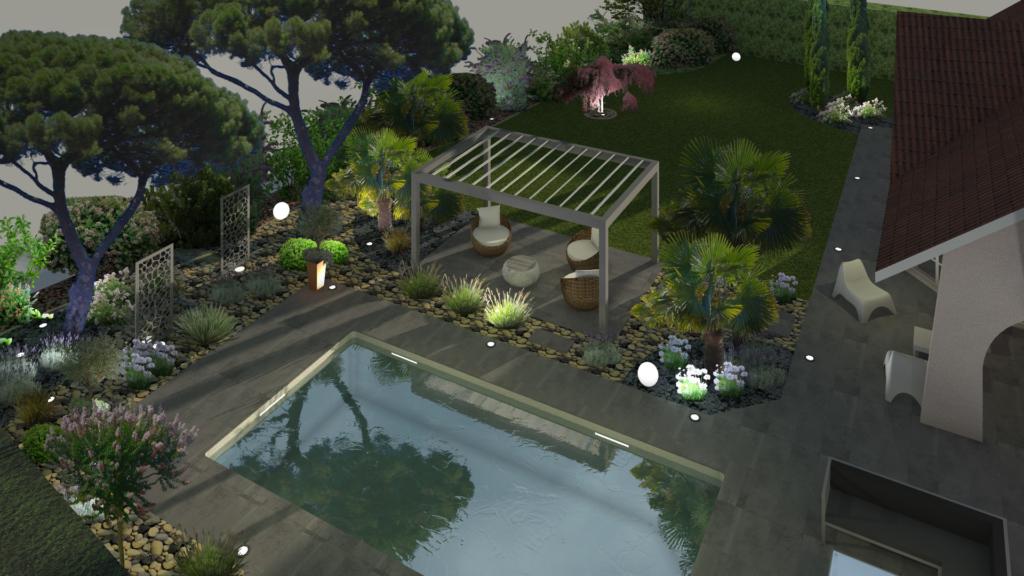 logiciel 3d jardin